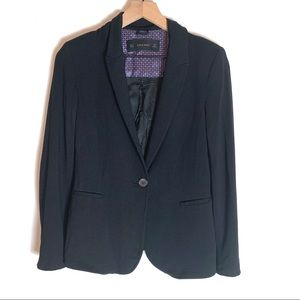 Zara Basic Single Button Blazer